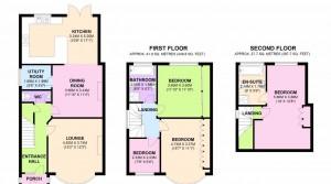 floor plan 3 Hemingford Rd