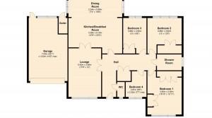 floor plan Bramley x 2